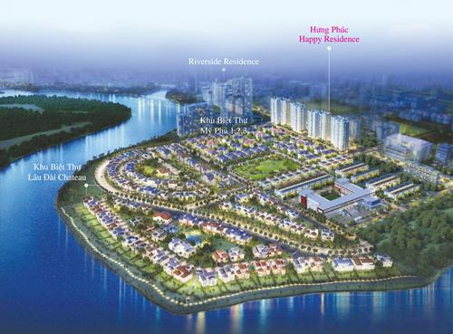 Những dự án view sông đẹp nhất Phú Mỹ Hưng