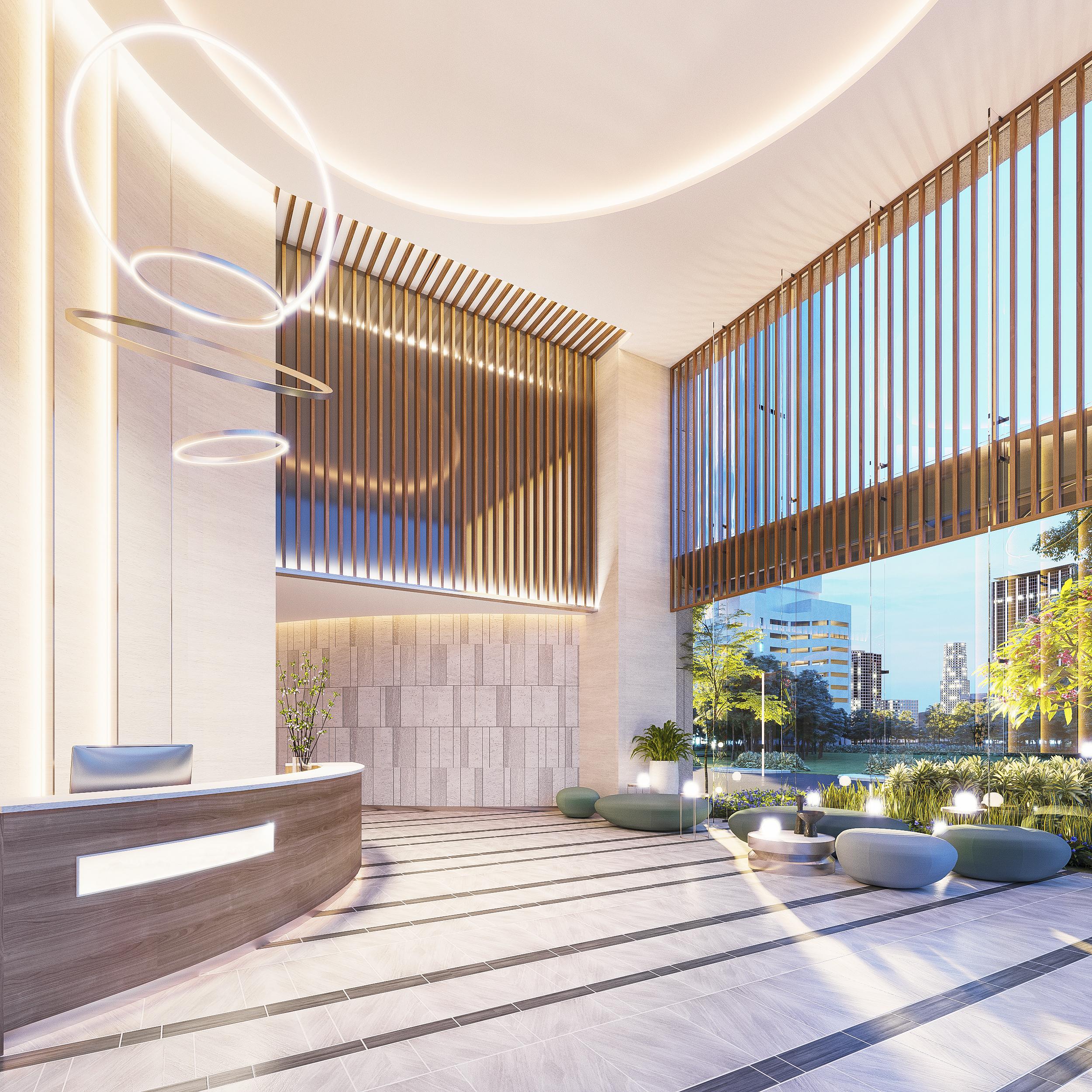Dự án Urban Hill do kiến trúc sư người Đức thiết kế