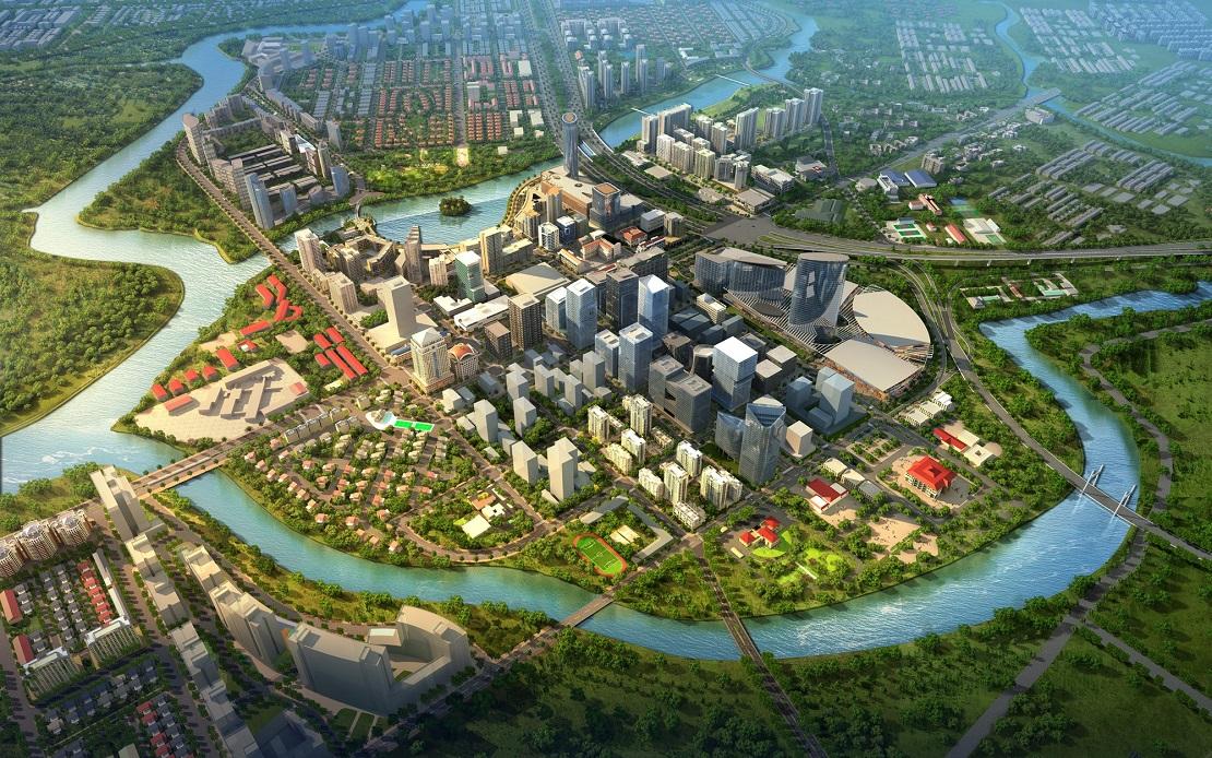 Đô thị Phú Mỹ Hưng được quy hoạch và phát triển theo tiêu chuẩn quốc tế, sinh thái bền vững và hiện đại