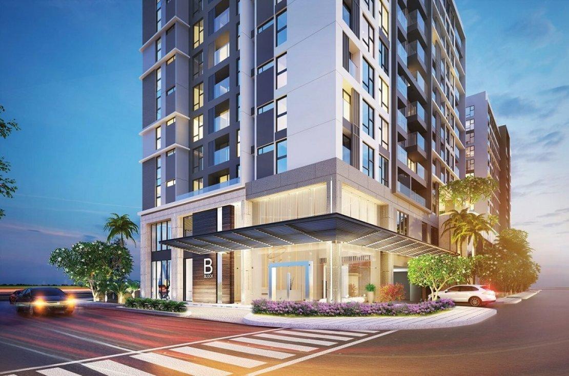 Mở bán chỉ 164 căn hộ cao cấp Urban Hill Phú Mỹ Hưng vị trí tại Co.op Mart Nguyễn Văn Linh Apartment_entrance_5b05ee1b6a979