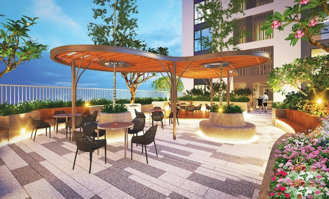 Mở bán chỉ 164 căn hộ cao cấp Urban Hill Phú Mỹ Hưng vị trí tại Co.op Mart Nguyễn Văn Linh BBQ_garden_5b05ee1b72425