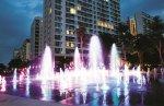 Quảng trường nhạc nước ấn tượng tại khu phức hợp Midtown