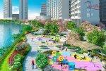 Công viên triệu đô Sakura Park bên trong Phú Mỹ Hưng Midtown