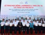 Lễ trao học bổng Lawrences Ting lần 16 và trao tài trợ 2019