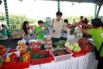 Rộn ràng ngày hội thực phẩm sạch tại Phú Mỹ Hưng