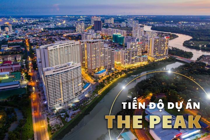 Dự án The Peak Midtown sắp chuẩn bị được bàn giao trong năm 2021
